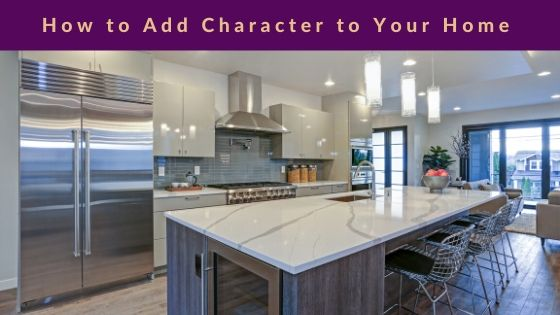 A photo of a kitchen to add character to your home