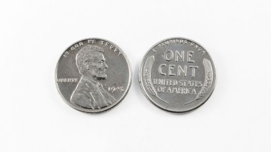 Stainless steel pennies