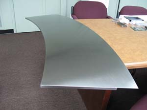 stainless steel fabricator desktop from Coco Architectural Grilles & Metalcraft
