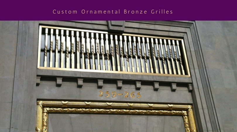 Custom Ornamental Grilles