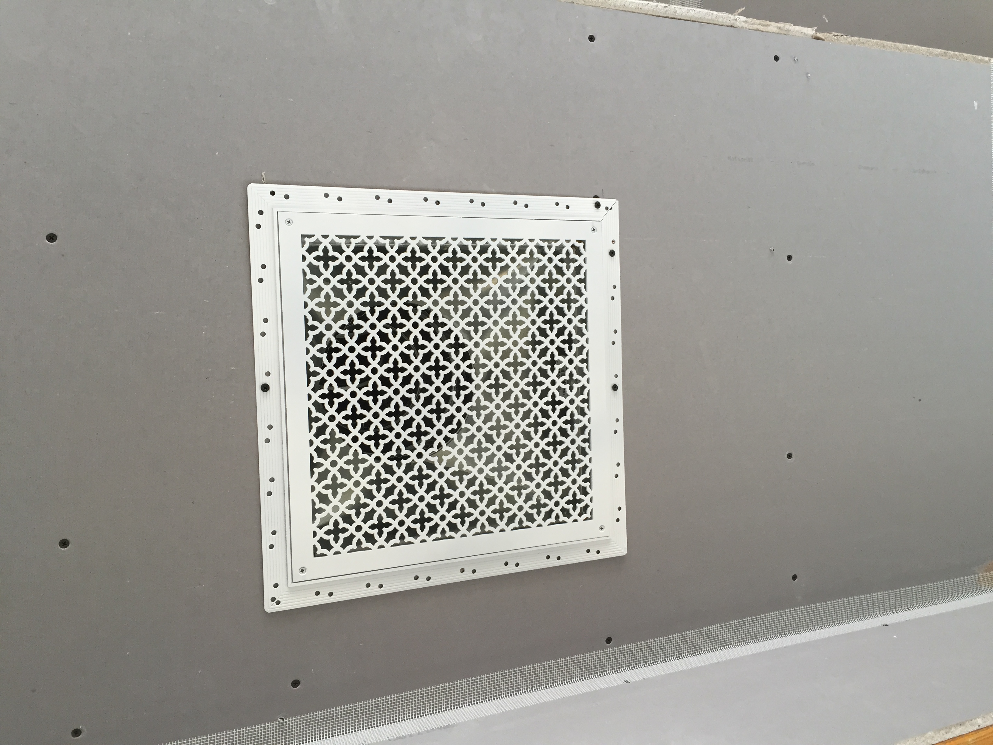 L bead Perforated Grille