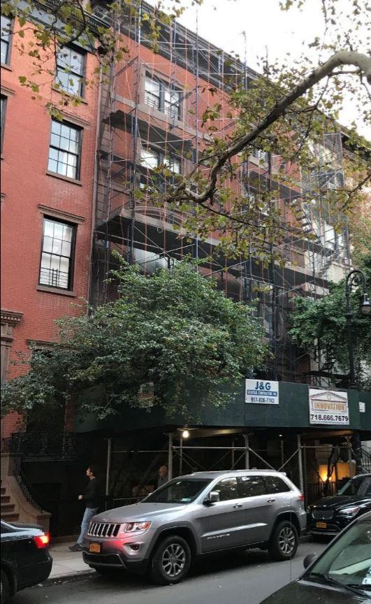 14 West 10th Street Greenwich Village Under Construction in 2017