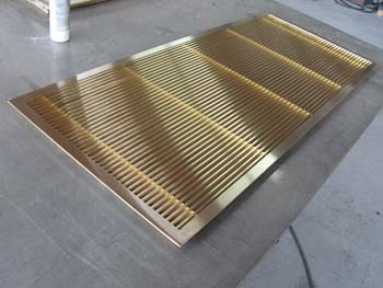Satin Bronze HVAC Vent Return Grille