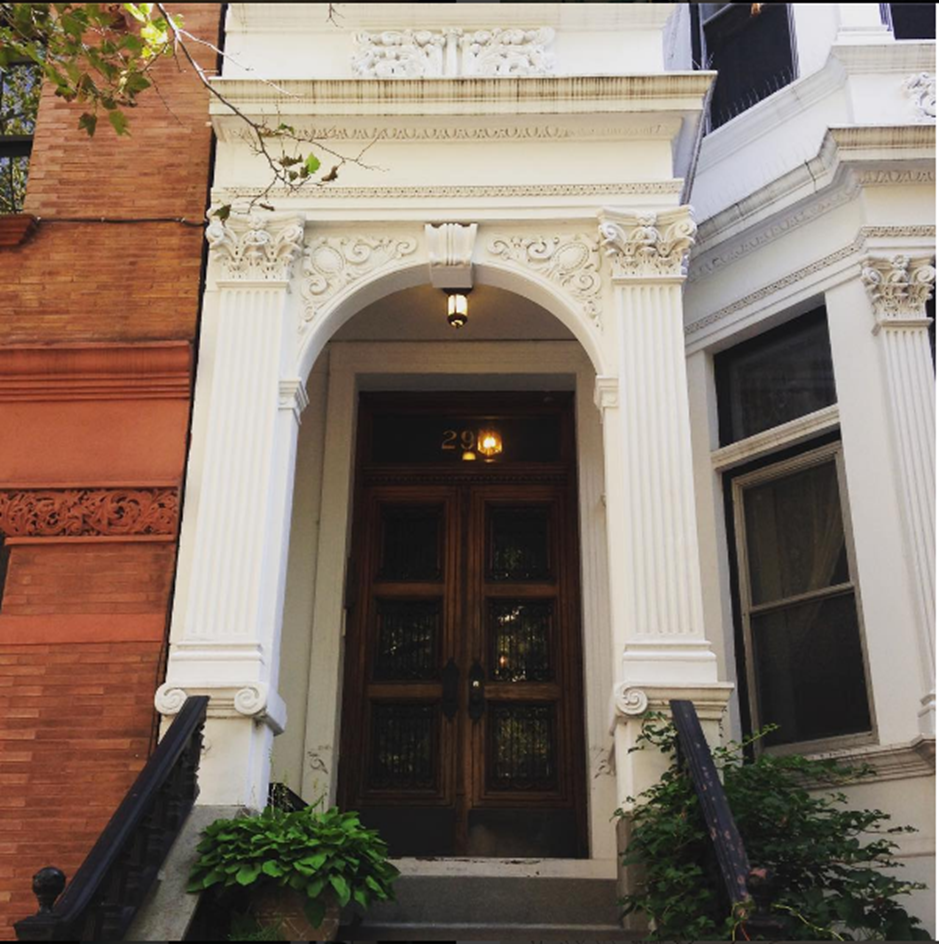 Historic Brooklyn Heights style of front door