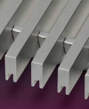 aluminum linear bar grilles