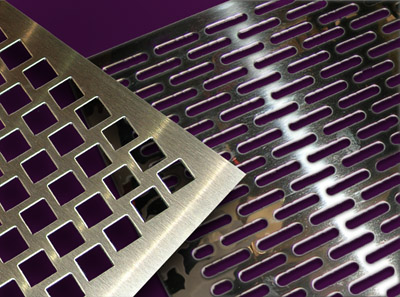 perforated metal grilles from Coco Architectural Grilles