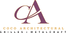 Advanced Architectural Grilles - Coco Architectural Grilles & Metalcraft Logo