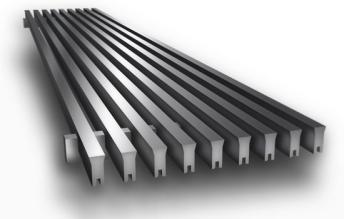 CA330 Linear Bar Grille