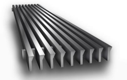 CA200 Linear Bar Grille