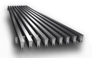 CA220 Linear Bar Grille