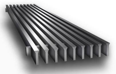 CA300 Linear Bar Grille