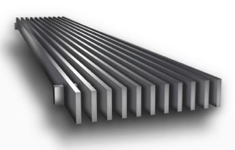 CA100 Linear Bar Grille